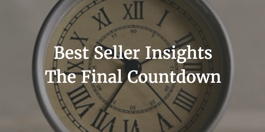 Best Seller Insights - The Final Countdown