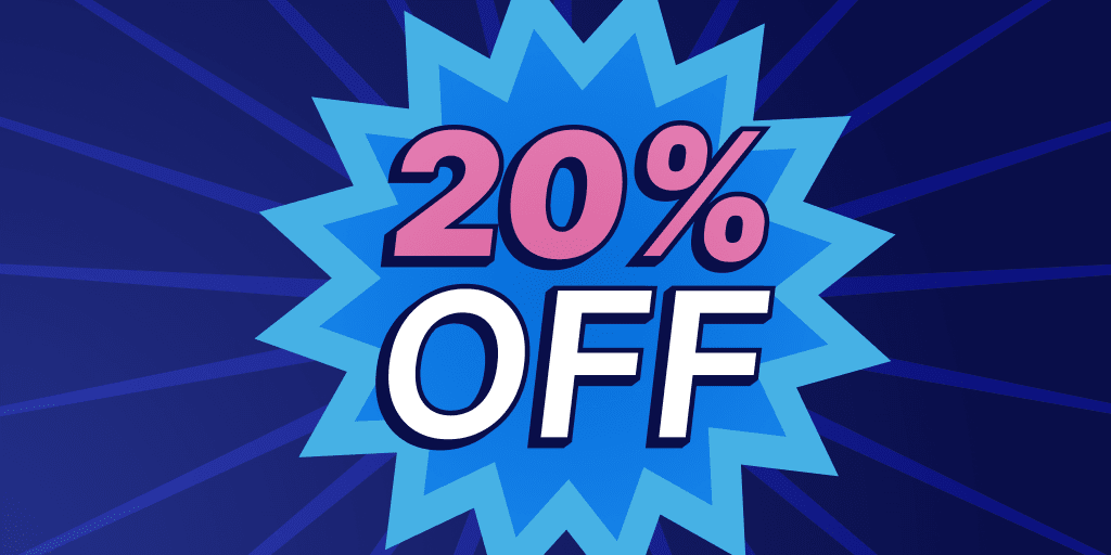 Promote a % Off Discount Sale