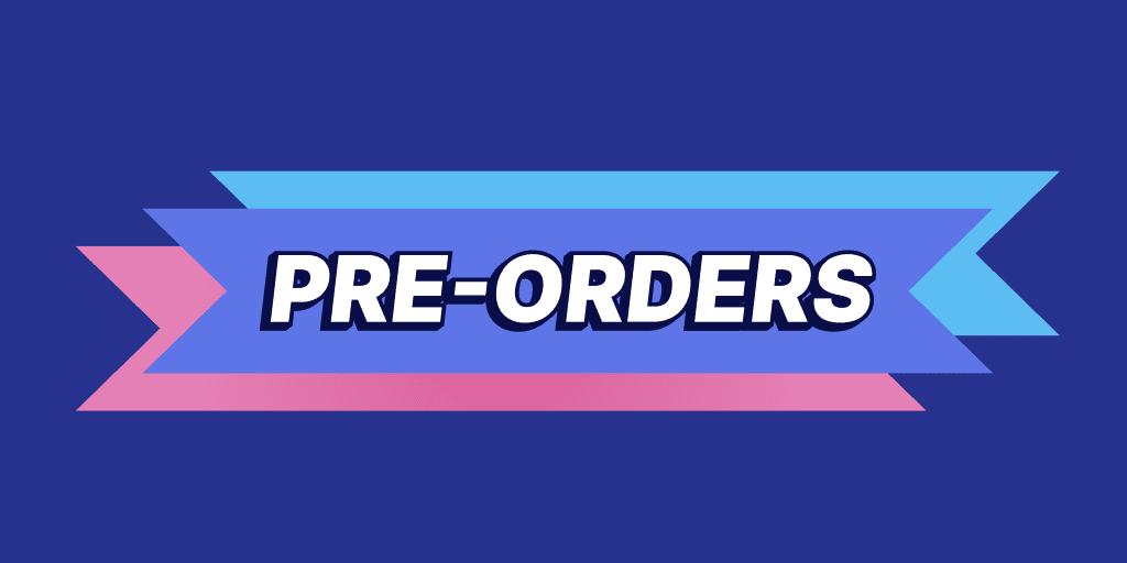 Take Pre-Orders on Products