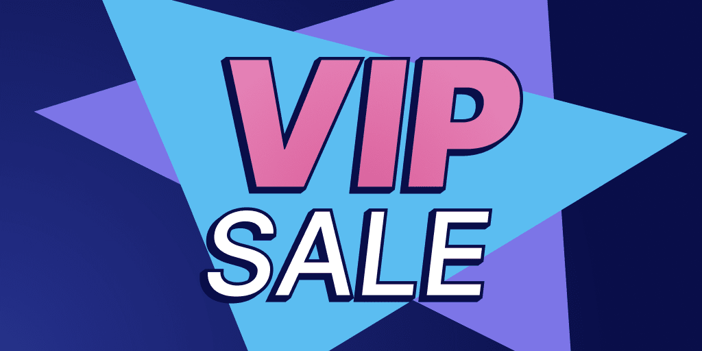 Run a VIP Customer Sale